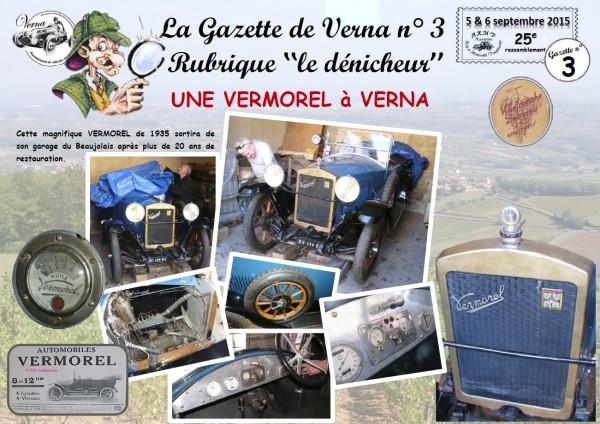 La Gazette de Verna 3 - Le dénicheur et la Vermorel-1