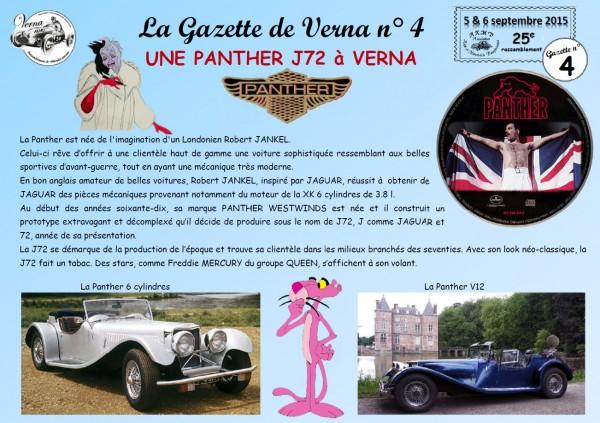 La Gazette de Verna 4 - La Panther de Cruella-1