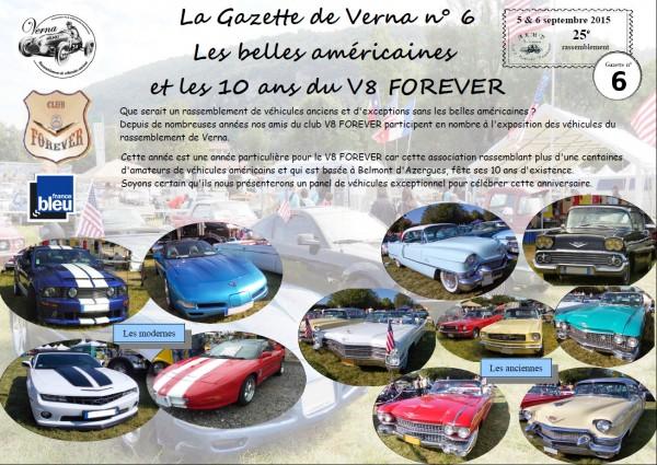 La Gazette de Verna n°6 les américaines-1