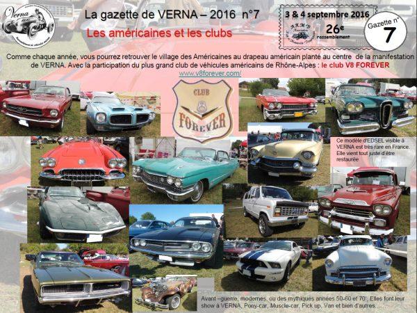 La gazette de Verna Les américaines et club participants-1